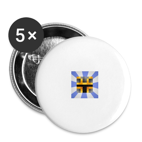 iCrazyKnight - Buttons large 2.2''/56 mm(5-pack)