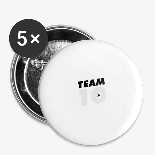 tee - Buttons large 2.2''/56 mm(5-pack)