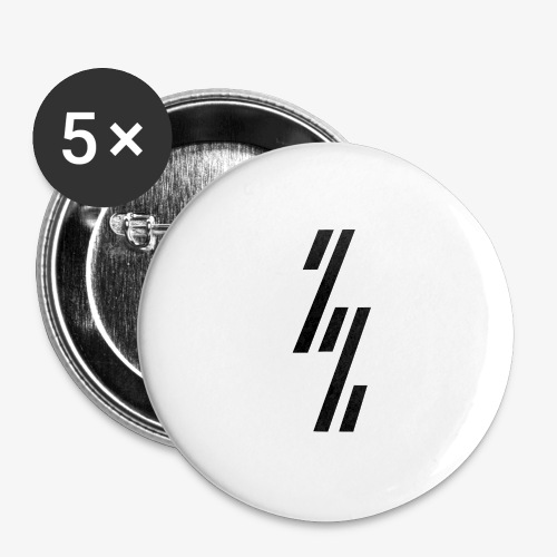 ZZ ZependeZ Vrouwen T-shirts - Buttons groot 56 mm (5-pack)
