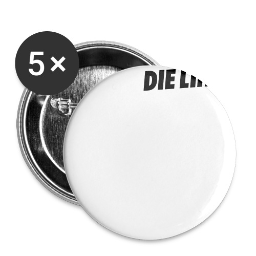 Schriftzug_original - Buttons groß 56 mm (5er Pack)