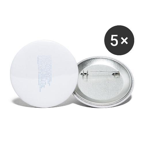erotokritix - Buttons groß 56 mm (5er Pack)