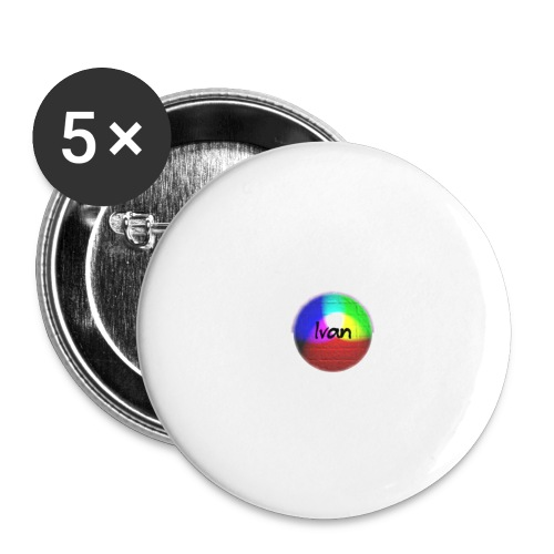 Ivan plays - Buttons large 2.2''/56 mm (5-pack)