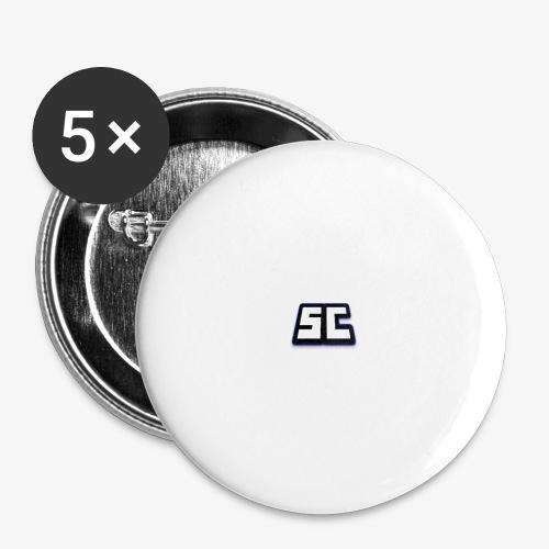 Swedencraft - Stora knappar 56 mm (5-pack)