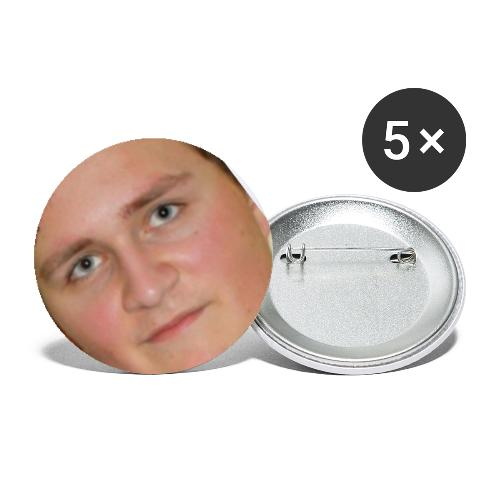 nnb face - Buttons groß 56 mm (5er Pack)
