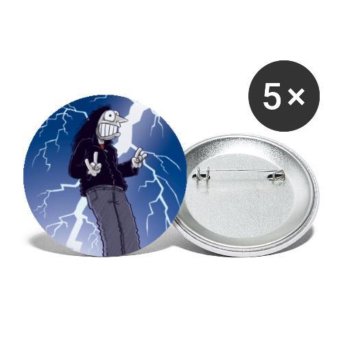 Lightning Strike - Stor pin 56 mm (5-er pakke)