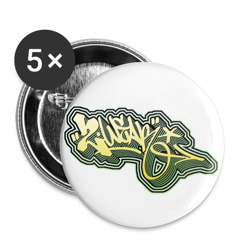 2wear Steady One ! √ - Buttons/Badges stor, 56 mm (5-pack)