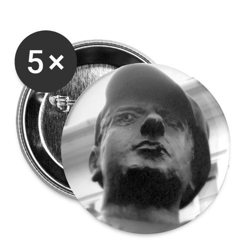 Heiner - Buttons groß 56 mm (5er Pack)