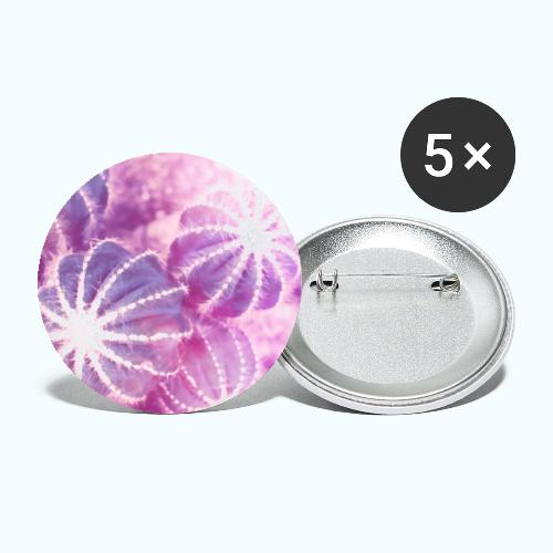 Summer cactus watercolor minimalism - Buttons large 2.2''/56 mm(5-pack)