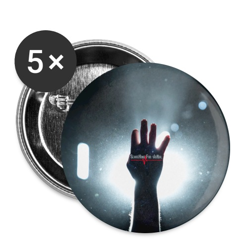 Searching For Signal Right Hand - Buttons large 2.2''/56 mm(5-pack)