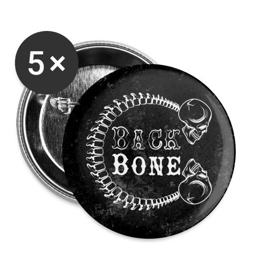 BlackBone - Lot de 5 grands badges (56 mm)