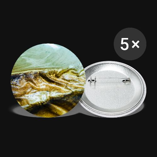 Sea Creature Tail - Buttons groß 56 mm (5er Pack)