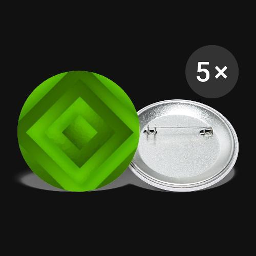 Tree Diamond - Buttons groß 56 mm (5er Pack)
