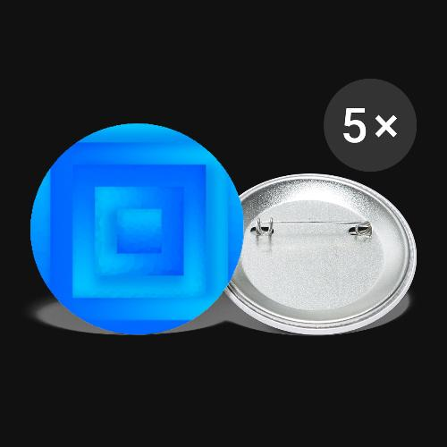 Water Cube - Buttons groß 56 mm (5er Pack)
