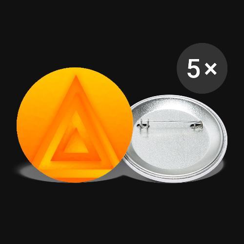 Sun Pyramid - Buttons groß 56 mm (5er Pack)