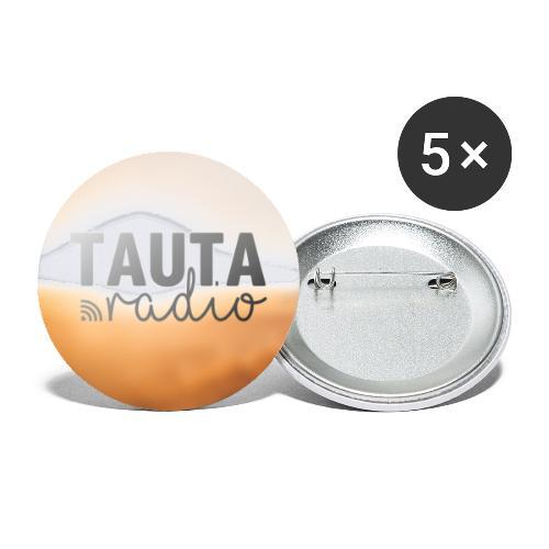 Radio Tauta Saulainais Logo - Buttons large 2.2''/56 mm(5-pack)