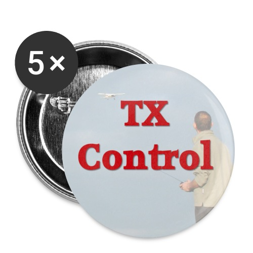 txcontrol - Buttons large 2.2''/56 mm(5-pack)