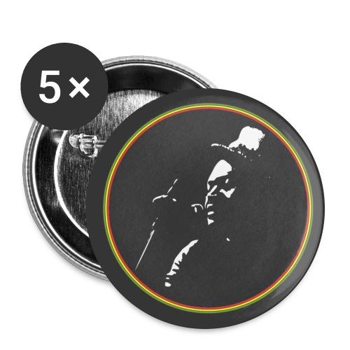button logo 56 benkopffarbe kopie - Buttons groß 56 mm (5er Pack)