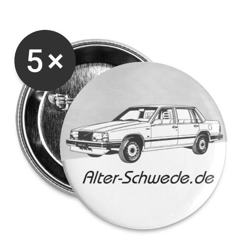 744 Alter Schwede - Buttons groß 56 mm (5er Pack)