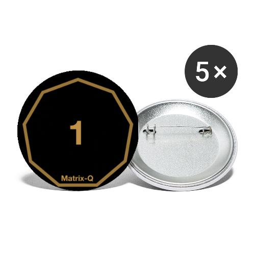 Matrix-Q Mug 1 - Buttons large 2.2''/56 mm(5-pack)
