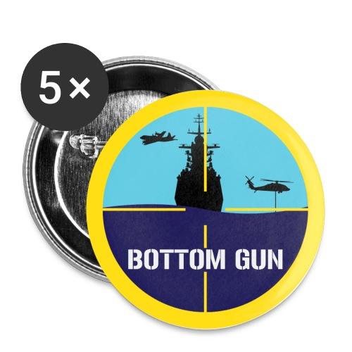 Bottom gun - Stora knappar 56 mm (5-pack)