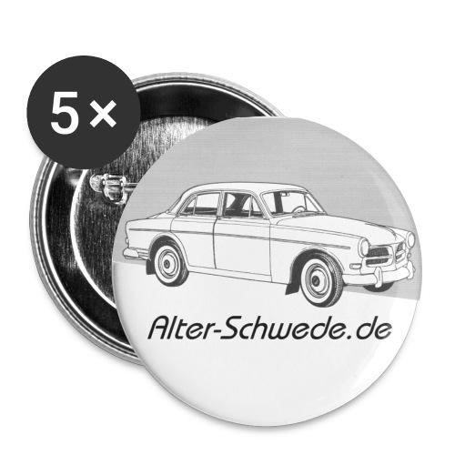 Amazon Alter Schwede - Buttons groß 56 mm (5er Pack)