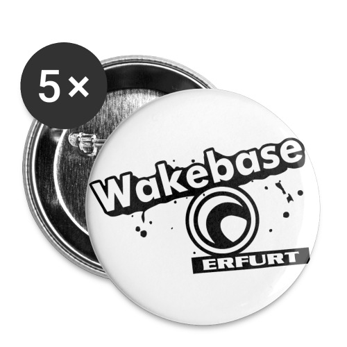 Wakebase Erfurt Digital - Buttons groß 56 mm (5er Pack)