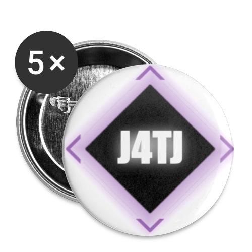logo bigger - Buttons large 2.2''/56 mm(5-pack)