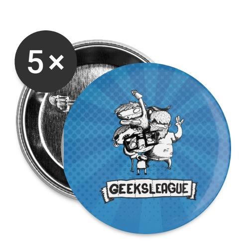 badgegrand - Lot de 5 grands badges (56 mm)