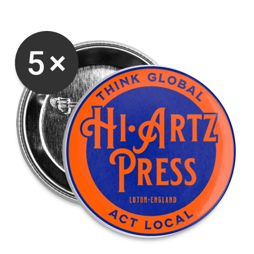 haplogoltfc2 - Buttons large 2.2''/56 mm(5-pack)
