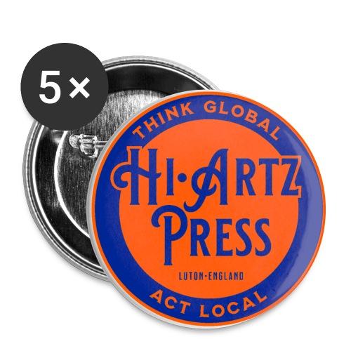haplogoltfc - Buttons large 2.2''/56 mm(5-pack)