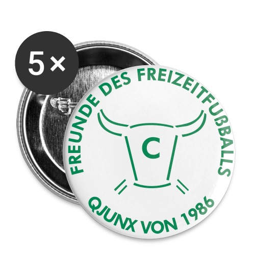 Q Emblem - Buttons groß 56 mm (5er Pack)
