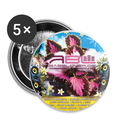 Ruhr in Love 2014 RBL - Buttons groß 56 mm (5er Pack)