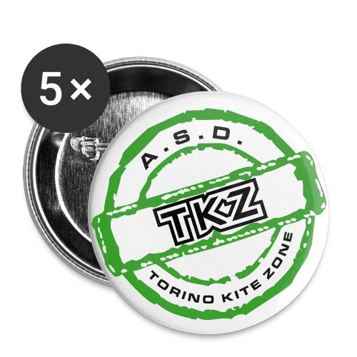 logo200 - Confezione da 5 spille grandi (56 mm)