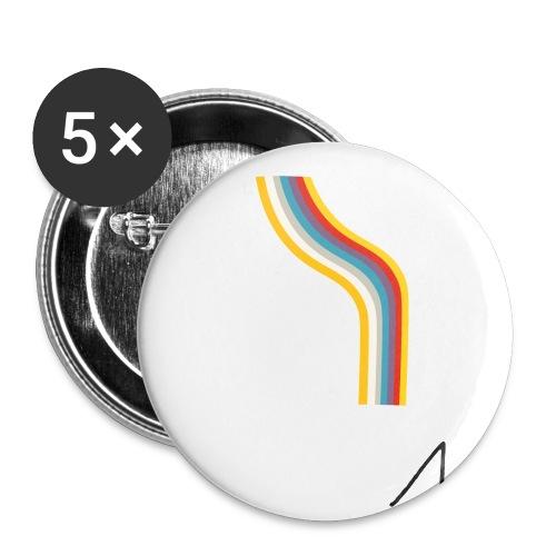 OmaggioB - Confezione da 5 spille grandi (56 mm)
