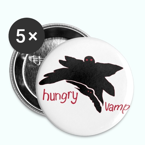 hungry vamp - Buttons large 2.2''/56 mm(5-pack)