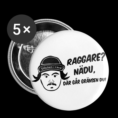 Sami Lyxfällan utan bakgr - Stora knappar 56 mm (5-pack)
