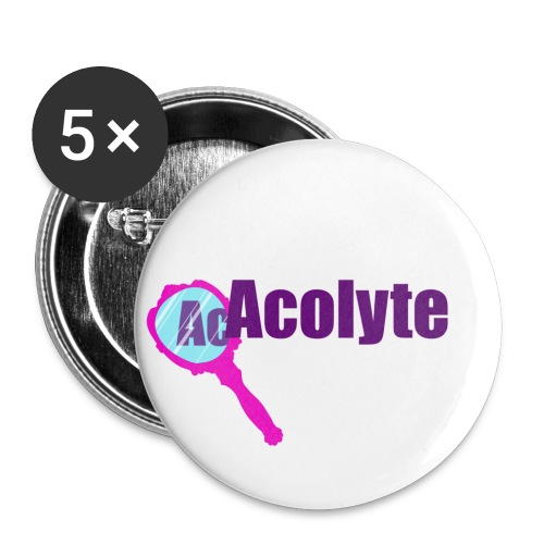 Acolyte light - Buttons large 2.2''/56 mm(5-pack)