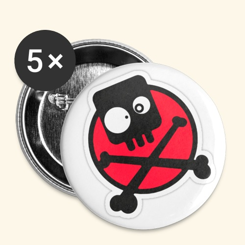 avatar-trans - Buttons large 2.2''/56 mm(5-pack)