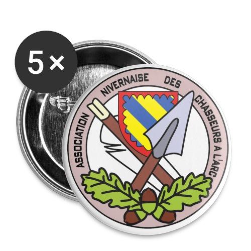 Anca couleur - Lot de 5 grands badges (56 mm)