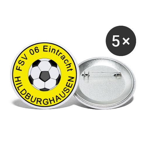 Hildburghausen FSV 06 Club Tradition - Buttons groß 56 mm (5er Pack)