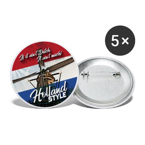 Holland Style (IIADIAM) - Buttons groß 56 mm (5er Pack)