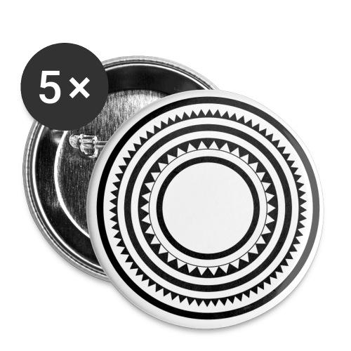 Ninety Seconds - Confezione da 5 spille grandi (56 mm)