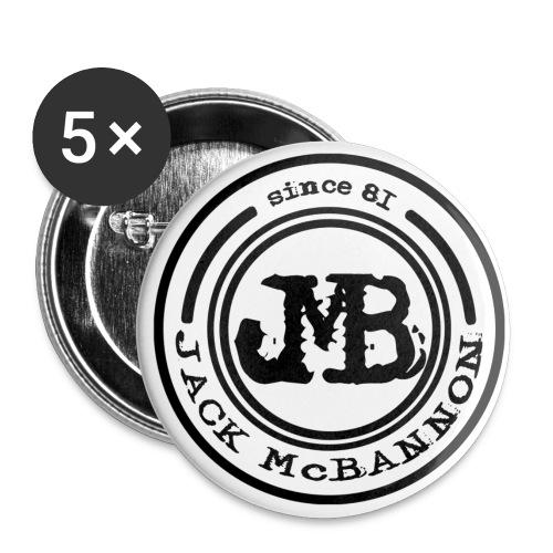 Jack McBannon - JMB Since 81 - Buttons groß 56 mm (5er Pack)