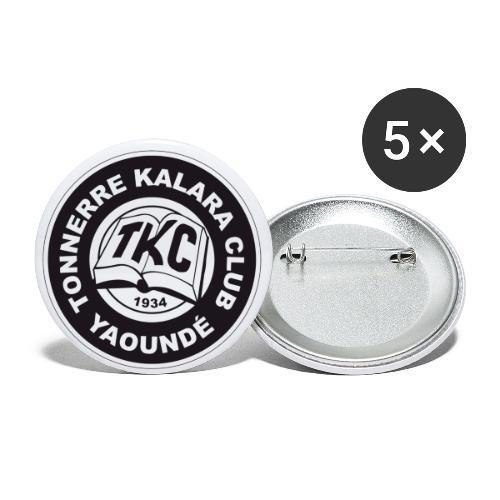 TKC Original - Lot de 5 grands badges (56 mm)