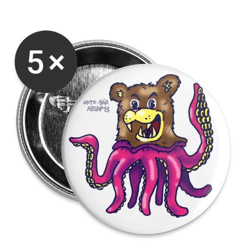 oktobaer - Buttons groß 56 mm (5er Pack)