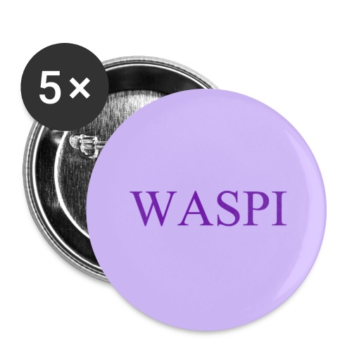 WASPI Purple - Buttons large 2.2''/56 mm (5-pack)