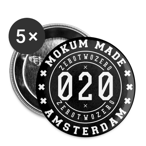 SPREADSHIRT_MM_01 - Buttons large 2.2''/56 mm(5-pack)