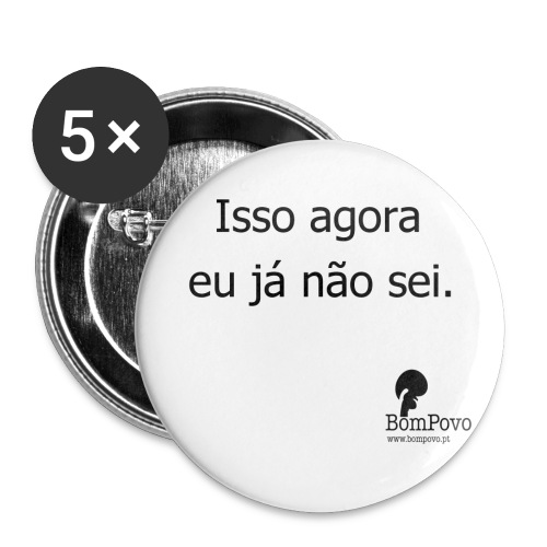 Isso agora - Buttons large 2.2''/56 mm(5-pack)