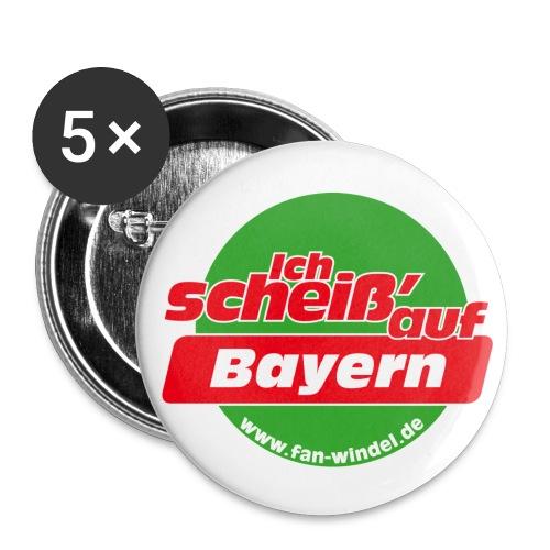 bayern - Buttons groß 56 mm (5er Pack)