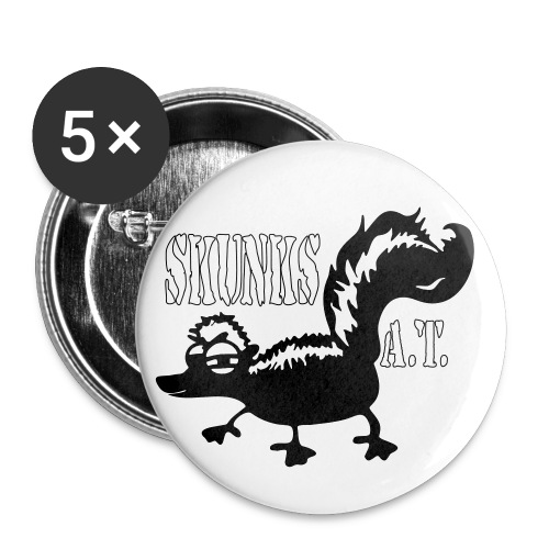 skunk4shirts small2 - Buttons groß 56 mm (5er Pack)